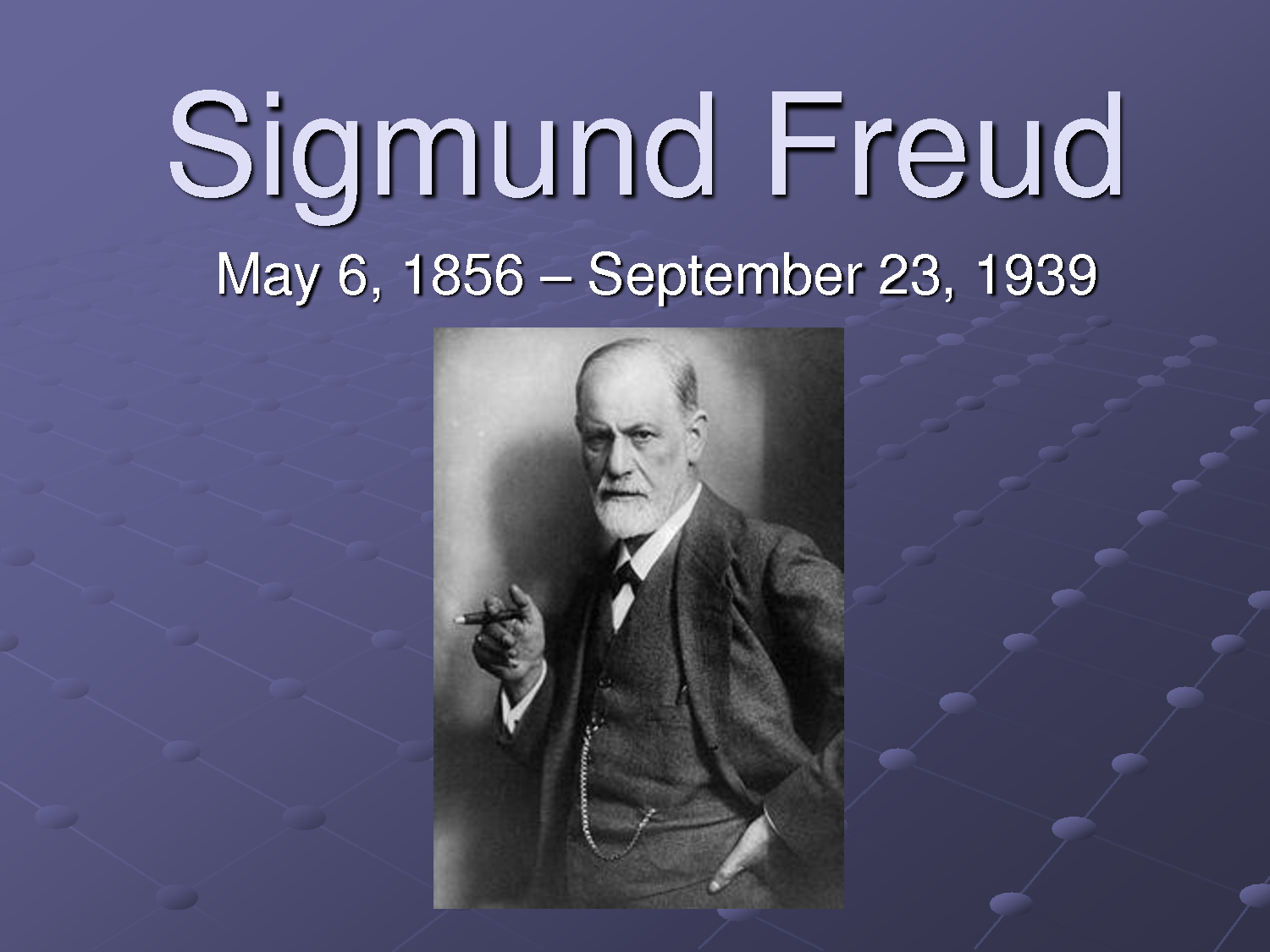 a biography of sigmund freud the psychology