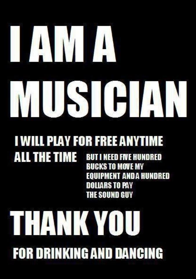 Funny Quotes About Musicians Quotesgram