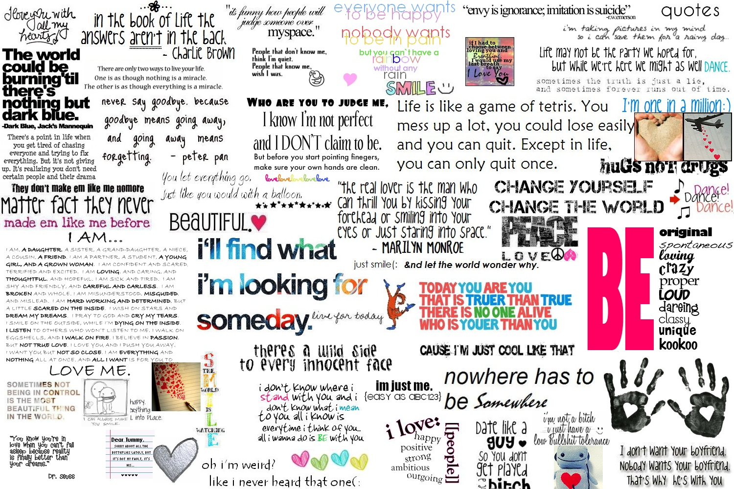 Image result for collage of phrases