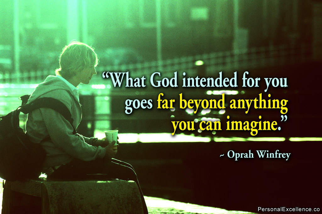 oprah winfrey inspirational essay A biblical name orpah was mispronounced as oprah today her talent to ad-lib kicked off a career and a journey that is inspirational the oprah winfrey show.