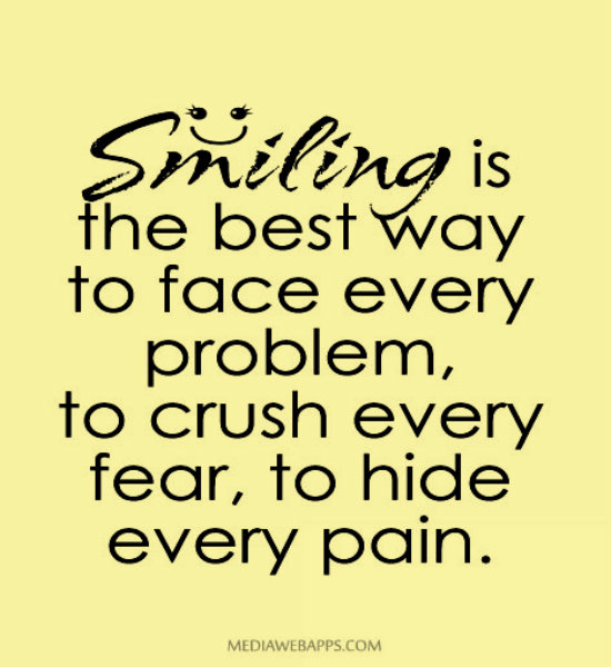 Smile When You Want To Cry Laugh To Hide The Pain Keep: Quotes Dont Hide Your Face. QuotesGram