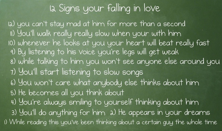 Love Quotes For Friends Falling In Love: Signs Your Falling In Love Quotes. QuotesGram