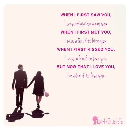 When I First Saw You I Fell In Love Quotes: When I First Saw You Quotes. QuotesGram