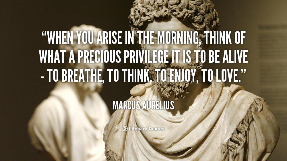 Whenyou Arise Marcus Aurelius Quotes. QuotesGram