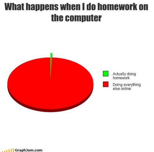 i do my homework every day