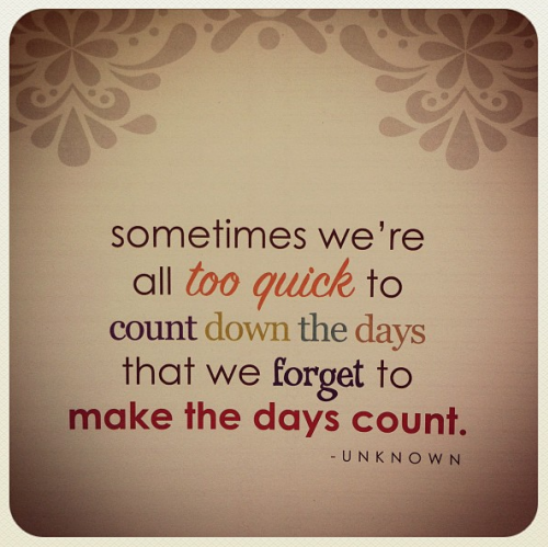 Make Your Day Count Quotes: Make It Count Quotes. QuotesGram