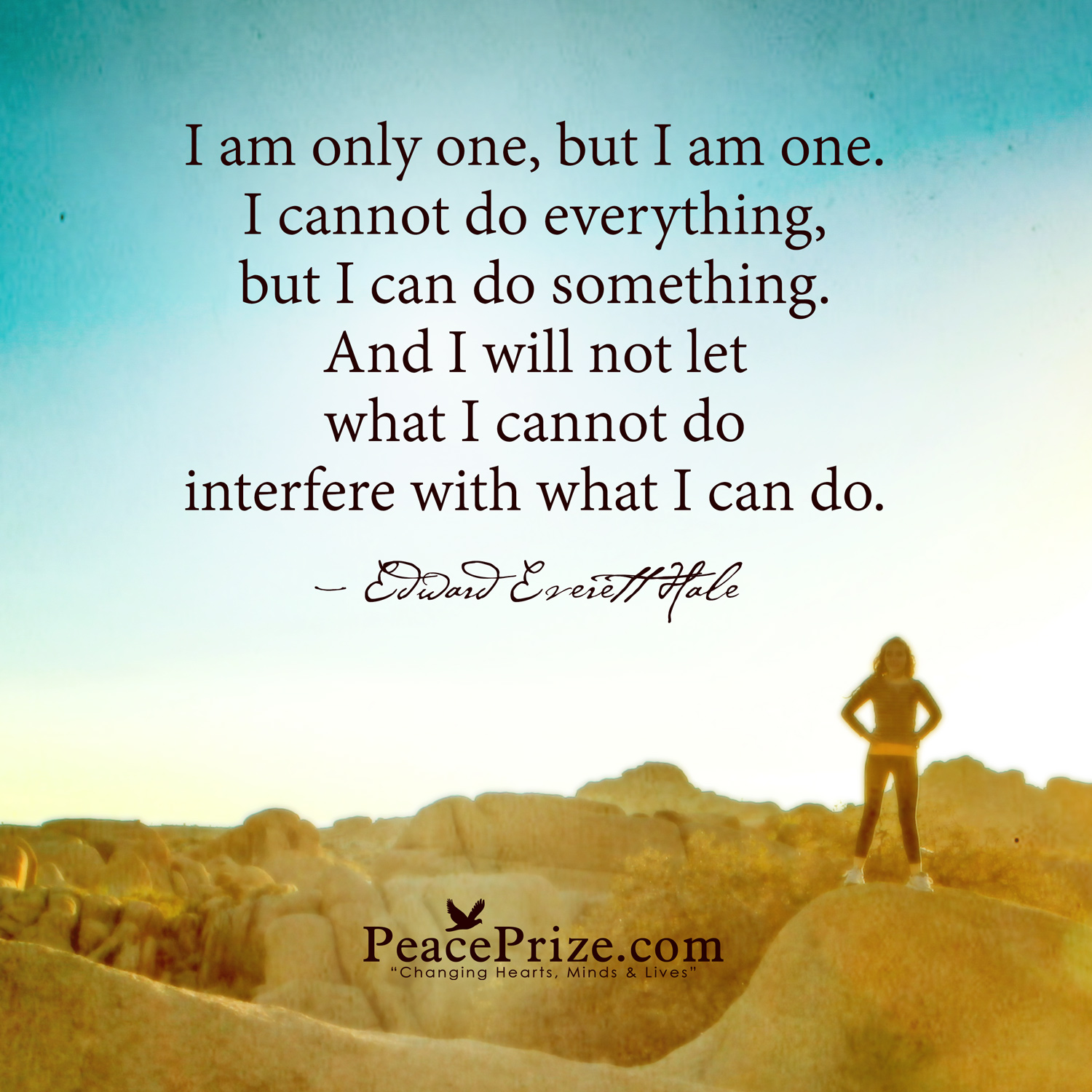 i am only one edward everett hale quotes quotesgram