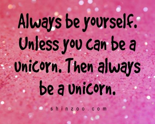 Short Inspirational Quotes: Famous Unicorn Quotes. QuotesGram