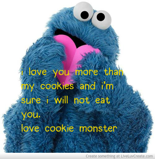 cookie monster quotes - 500×512