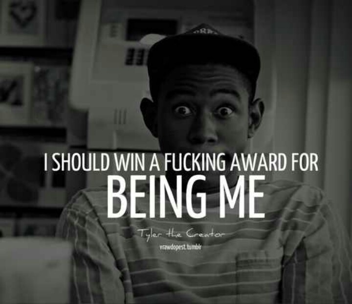 Saying Quotes About Sadness: Tyler The Creator Sad Quotes. QuotesGram