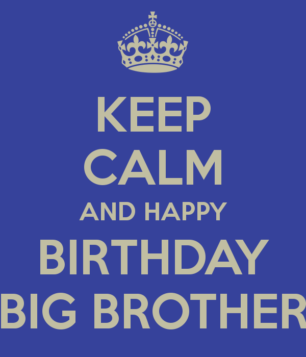 Funny Quotes For Her Birthday Quotesgram: Big Brother Little Brother Birthday Quotes To Funny