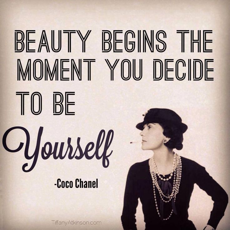 Chanel Quotes About Beauty