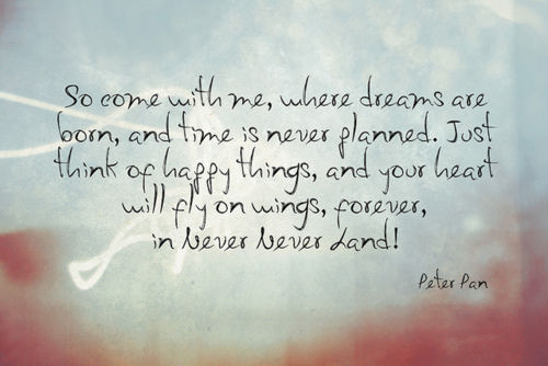 Cute Quotes From Peter Pan. QuotesGram Cute Peter Pan Quotes