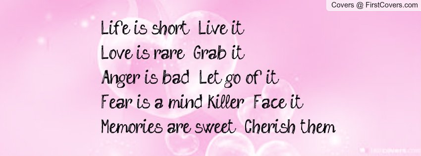 Facebook Quotes To Live By. QuotesGram
