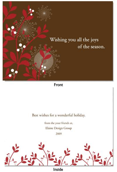 Holiday Card Quotes For Businesses QuotesGram