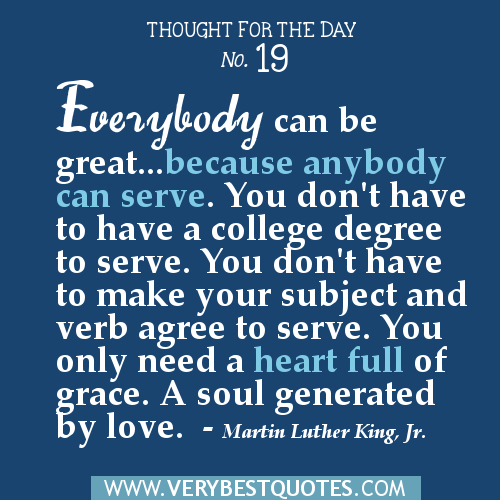 Thought For The Day Quotes: Thought For Today Inspirational Quotes. QuotesGram