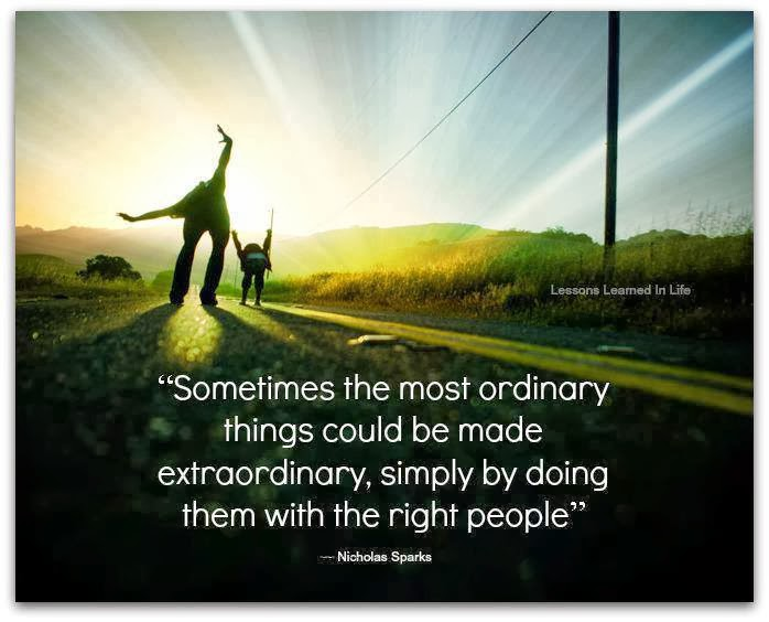 quotes about ordinary people doing extraordinary things