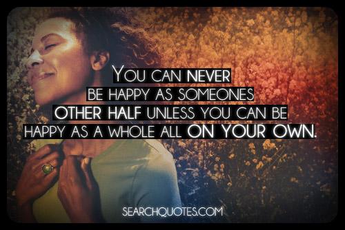 Never Happy Quotes. QuotesGram