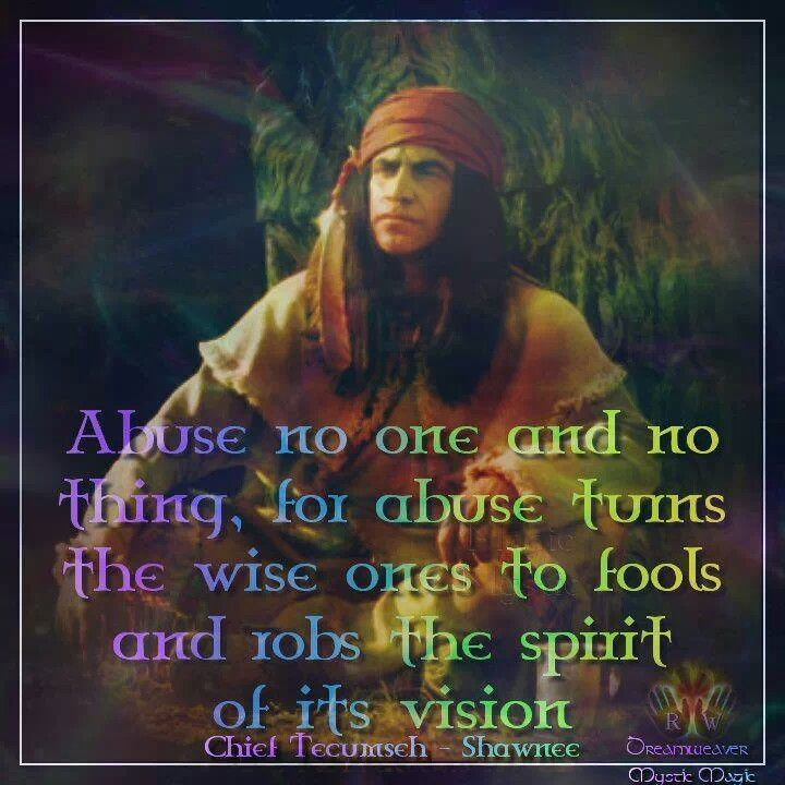 Famous Indian Quotes About Life: Shawnee Chief Tecumseh Quotes. QuotesGram