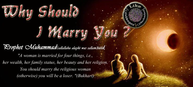 Sie sucht ihn zum heiraten