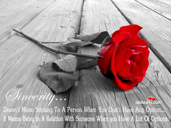 And love quotes about sincerity 97 love