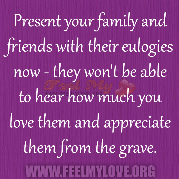 appreciate your family How to appreciate your spouse's unique personality  dr greg smalley is the vice president of marriage and family formation at focus on the family.