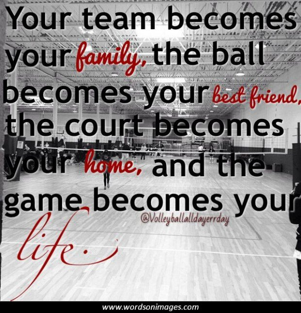 Motivational Quotes For Sports Teams Last Game: Volleyball Quotes Funny. QuotesGram