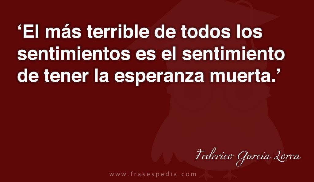 Frases De Sentimientos De Amor: Federico Garcia Lorca Quotes