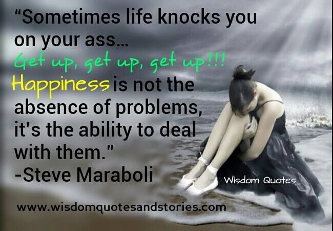 Sometimes Life Knocks You Down Quotes. QuotesGram