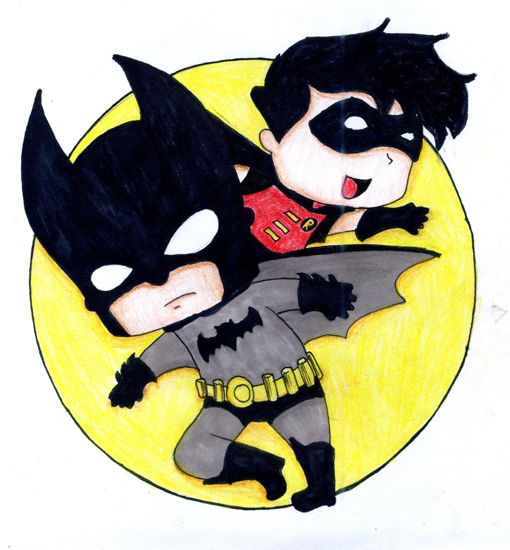 cute batman cartoon - HD1024×1105