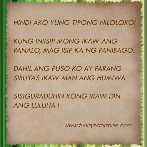 Quotes About Sorry Tagalog: Ng Manloloko Quotes. QuotesGram