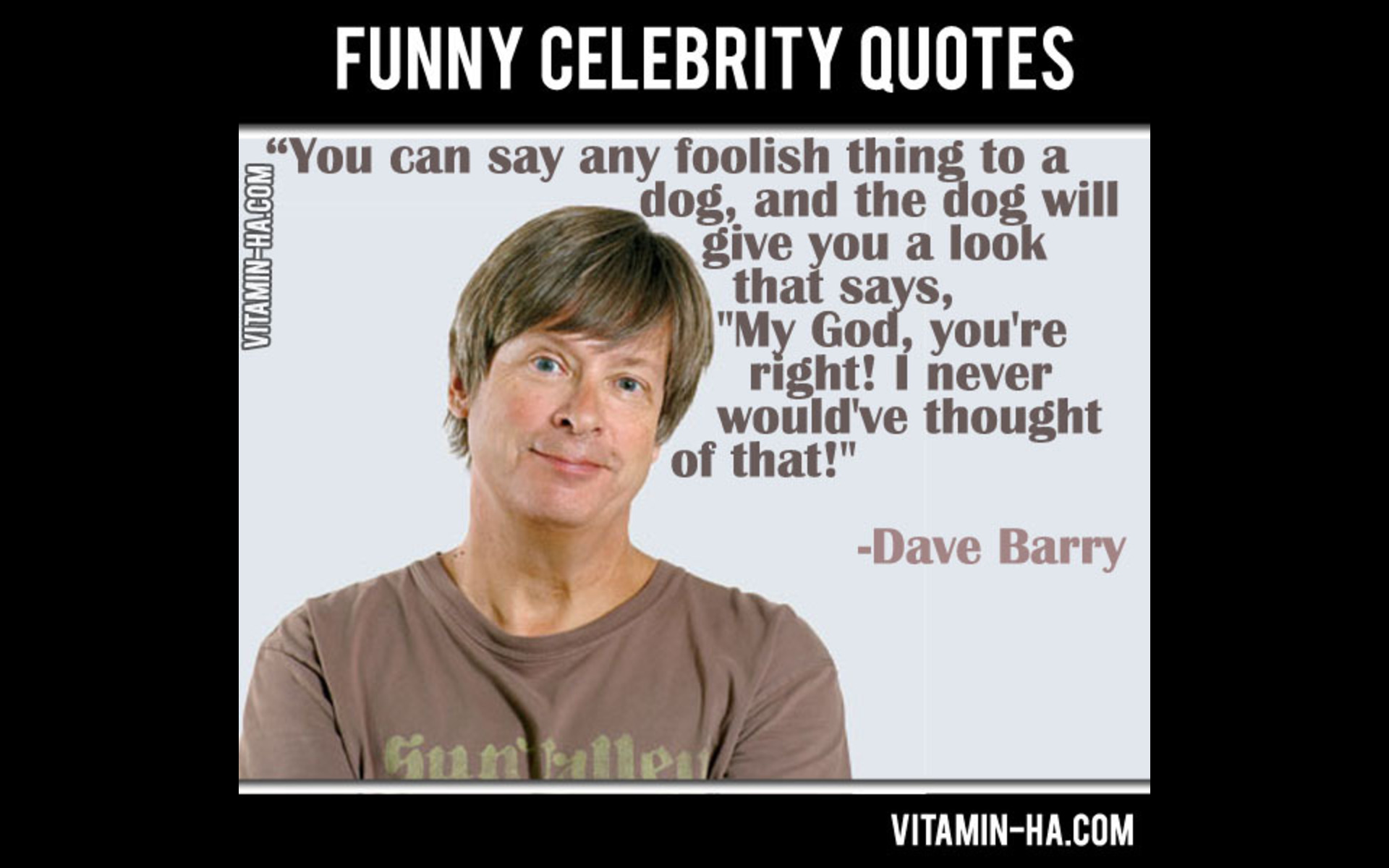 Funny Celebrity Quotes - YouTube