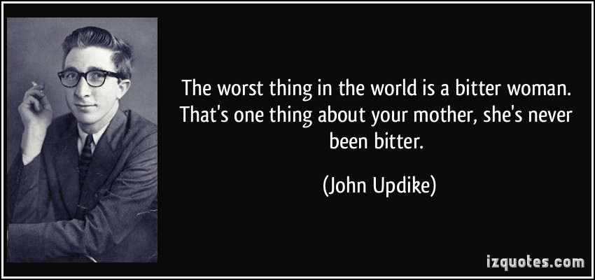 """the worst thing in the world """"there are better people in the world, do not let the worst do the worst to you, you deserve the best in life"""" ― michael bassey johnson tags: be-happy ,  the worst of things, it's a feeling extreme, that doesn't exist in between"""" ― jasleen kaur gumber."""