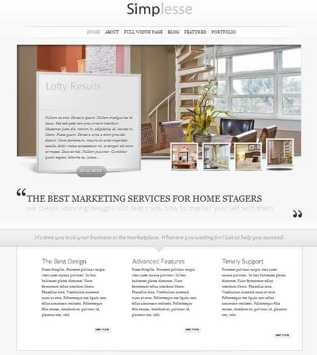 Staging quotes quotesgram Home furniture quotation template