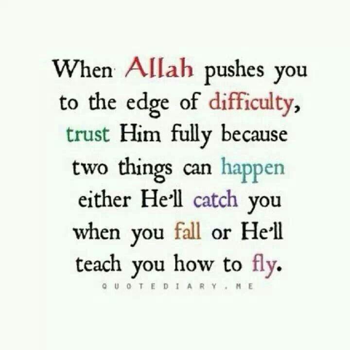 Trust In Islam Quotes: Trust In Allah Quotes. QuotesGram