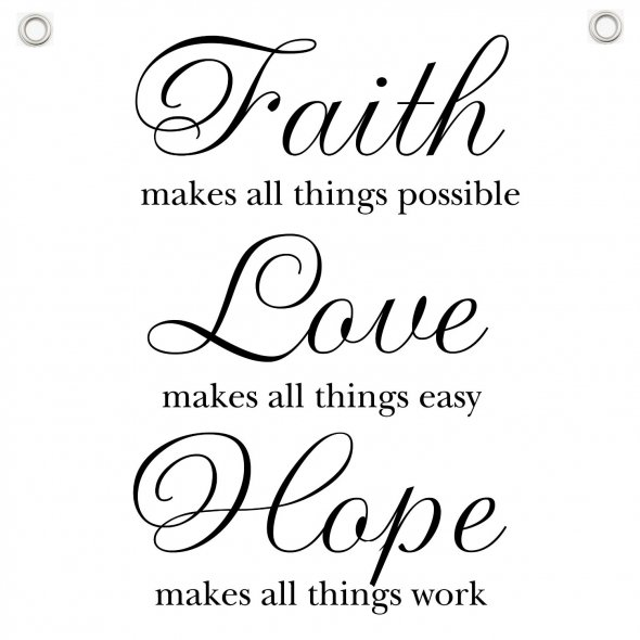 Love Hope Quote: Inspirational Quotes Strength Faith. QuotesGram