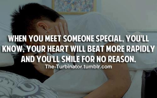 Quotes About Meeting Someone Special Quotesgram: When You Meet Someone Quotes. QuotesGram