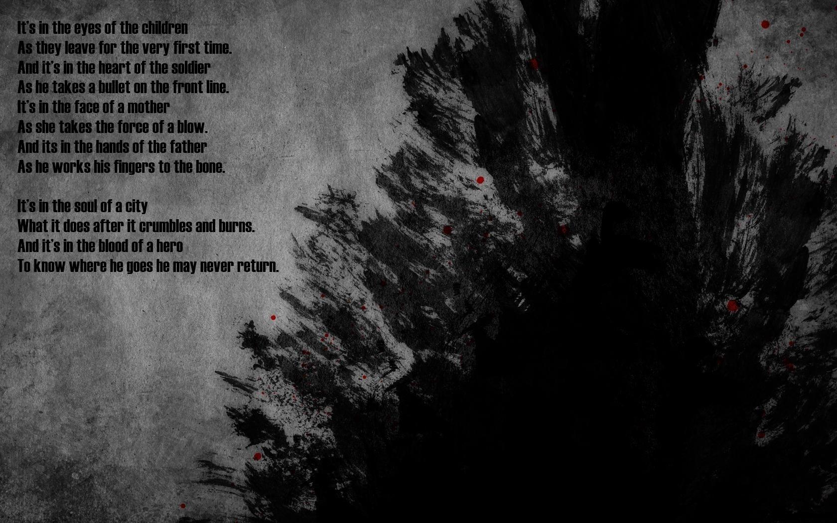 Dark Poems And Quotes. QuotesGram