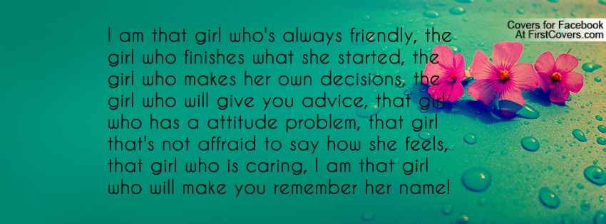 I Am Me Quotes For Girls Quotes For Girls Who I...