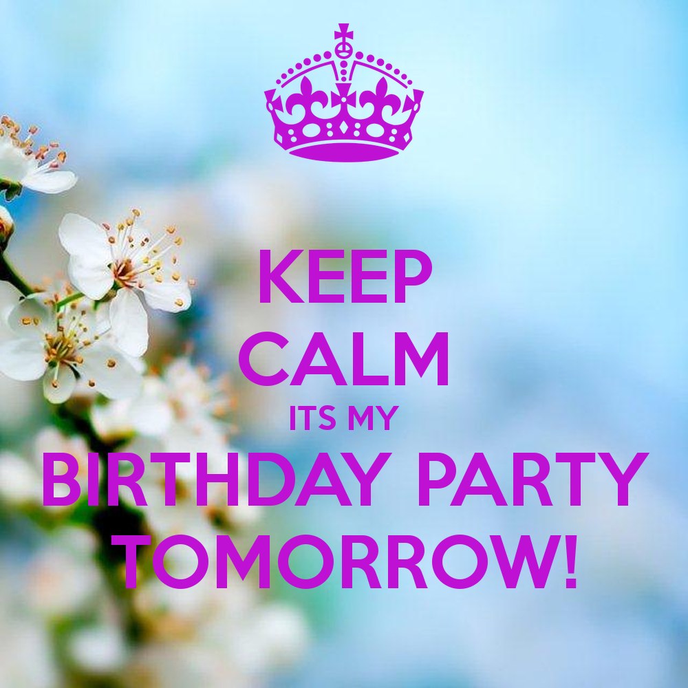 Surprising Birthday Tomorrow Quotes Quotesgram Funny Birthday Cards Online Fluifree Goldxyz