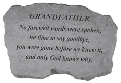 grandfather death sympathy quotes quotesgram