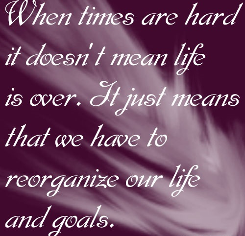 Life Is Hard Quotes: When Life Gets Hard Quotes. QuotesGram