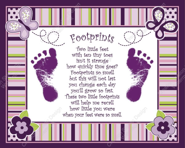 baby footprint quotes quotesgram