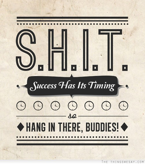 Encouraging Success Quotes: Hang In There Funny Quotes. QuotesGram