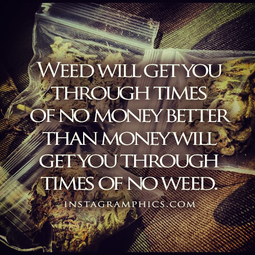 Get Money Quotes: Weed Getting Money Quotes. QuotesGram
