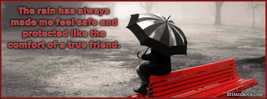 Rainy alone quotes