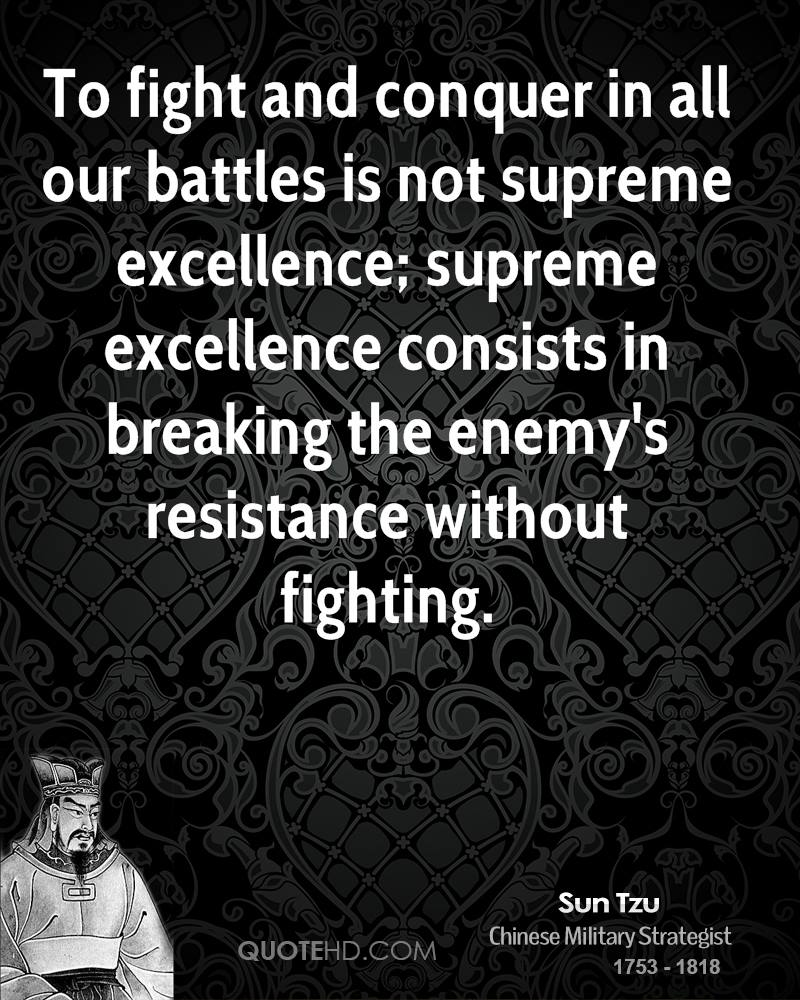 Art Of War Quotes Know Your Enemy: Sun Tzu Quotes Sayings Fear. QuotesGram