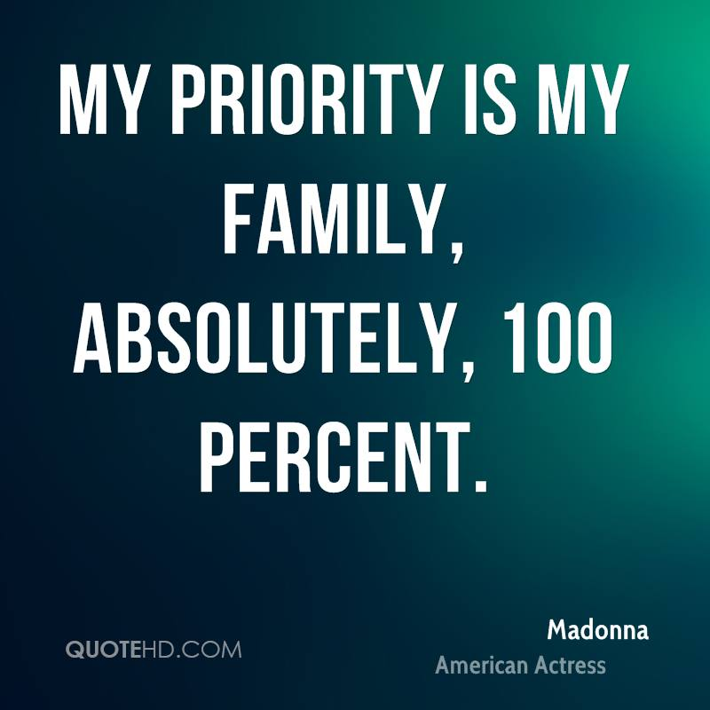 Priority Of Family Quotes Tagalog: Quotes About Priorities And Family. QuotesGram