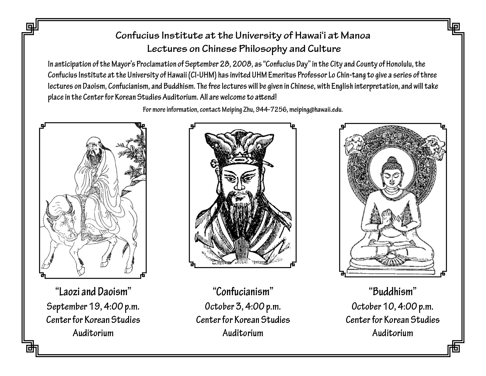 confucianism and taoism a comparative study essay Confucianism, daoism – legalism amidst the chaos of political instability and constant warring of the zhou era, arose many intellectual thinkers that brought such profound impact in the field of politics, religion and philosophy.