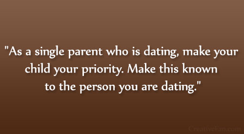 single mom and dating quotes